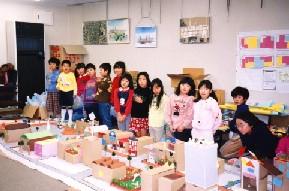 子供達の参加によるワークショップ