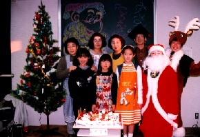 クリスマス「公園ケーキづくり」